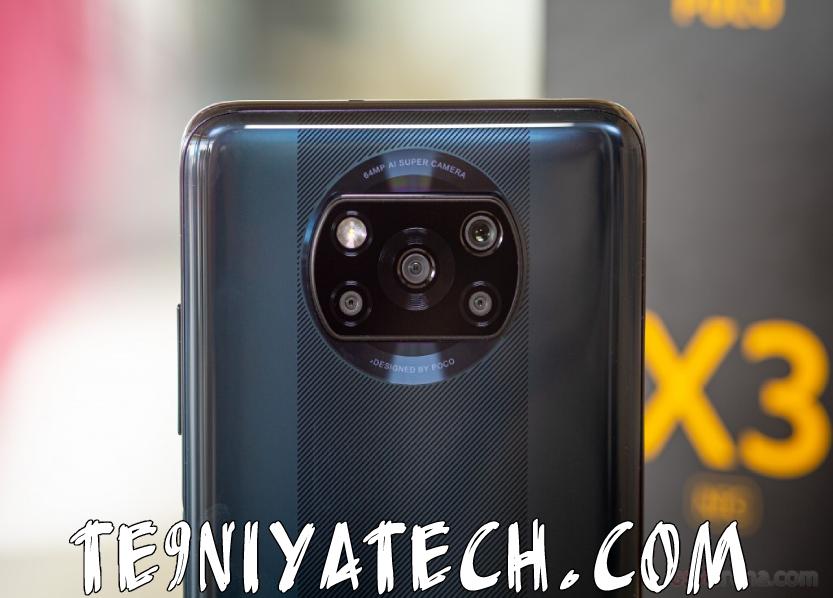 كاميرا هاتف بوكو x3